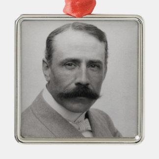 Sir Edward Elgar (1857-1934) (photo) Metal Ornament