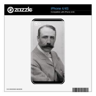 Sir Edward Elgar (1857-1934) (photo) iPhone 4 Decal