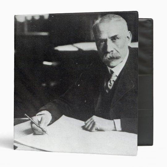 Sir Edward Elgar work on one  orchestral scores Binder