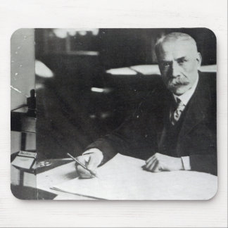 Sir Edward Elgar work on one  orchestral scores Mouse Pad