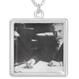 Sir Edward Elgar work on one  orchestral scores Custom Jewelry