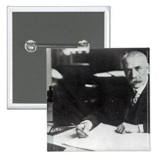Sir Edward Elgar work on one  orchestral scores Pinback Button