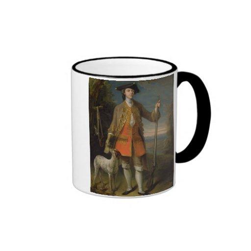 Sir Edward Hales, 1744 (oil on canvas) Ringer Coffee Mug