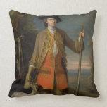 Sir Edward Hales, 1744 (oil on canvas) Throw Pillow