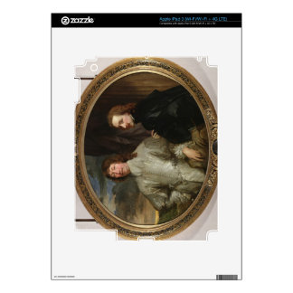 Sir Endymion Porter (1587-1649) and the Artist, c. iPad 3 Decal