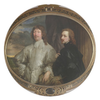 Sir Endymion Porter 1587-1649 and the Artist c Dinner Plates