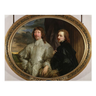 Sir Endymion Porter (1587-1649) and the Artist, c. Postcard