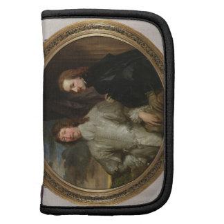Sir Endymion Porter (1587-1649) y el artista, C. Organizadores