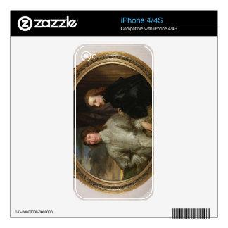 Sir Endymion Porter (1587-1649) y el artista, C. iPhone 4S Skins
