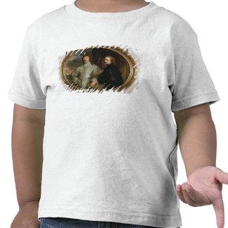 Sir Endymion Porter (1587-1649) y el artista, C. Camisetas