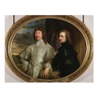 Sir Endymion Porter (1587-1649) y el artista, C. Postales