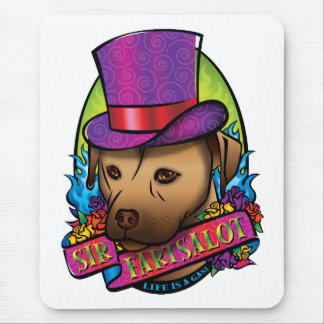Sir Fartsalot Mouse Pad