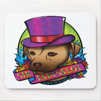 Sir Fartsalot Mouse Pads