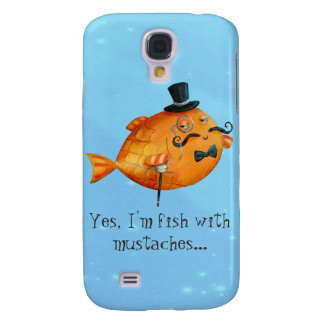 Sir Fishy Mustached Fish HTC Vivid Cases
