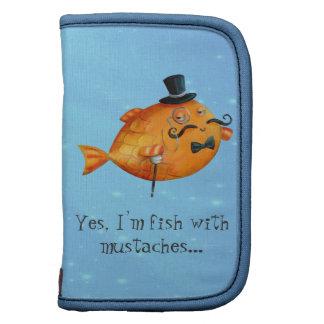 Sir Fishy Mustached Fish Organizer