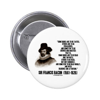 Sir Francis Bacon Books To Be Read Wholly Quote Pins