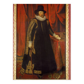Sir Francis Bacon  Viscount of St. Albans Postcard