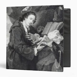 Sir Francis Dashwood  worshipping Venus 3 Ring Binder