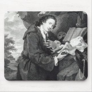 Sir Francis Dashwood  worshipping Venus Mouse Pad