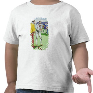 Sir Francis Drake (1540/3-96) playing bowls, from T-shirts