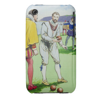 Sir Francis Drake (1540/3-96) que juega los Case-Mate iPhone 3 Fundas