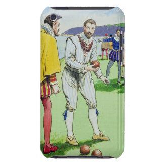 Sir Francis Drake (1540/3-96) que juega los cuenco Case-Mate iPod Touch Carcasa