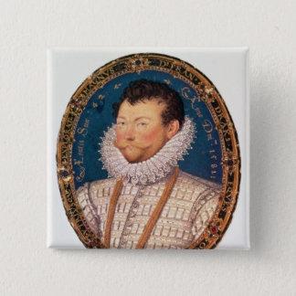 Sir Francis Drake, 1581 Pinback Button