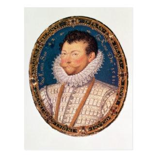 Sir Francis Drake, 1581 Tarjeta Postal
