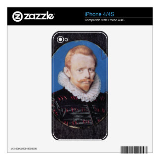 Sir Francis Drake iPhone 4 Decals