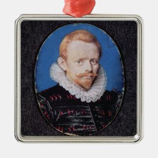 Sir Francis Drake Metal Ornament