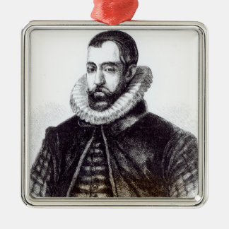Sir Francis Walsingham Metal Ornament