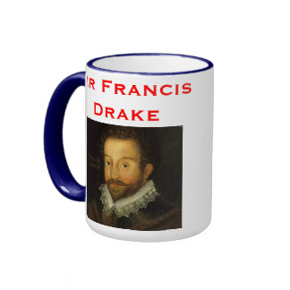Sir Francisco Drake* Mug Taza De Dos Colores
