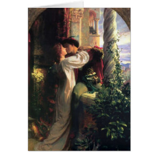 Sir Frank Dicksee, Romeo and Juliet Greeting Card