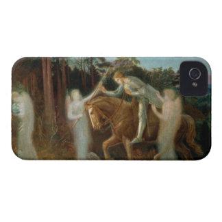 Sir Galahad, c.1894 (aceite en lona) Carcasa Para iPhone 4