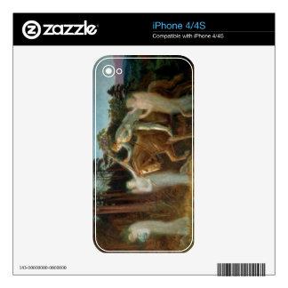 Sir Galahad, c.1894 (aceite en lona) iPhone 4S Calcomanías
