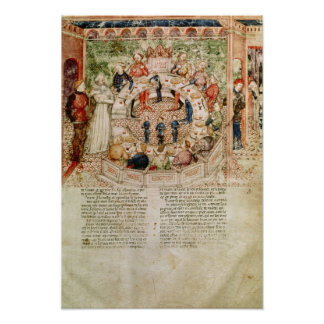 Sir Galahad is Welcomed to the Round Table Poster
