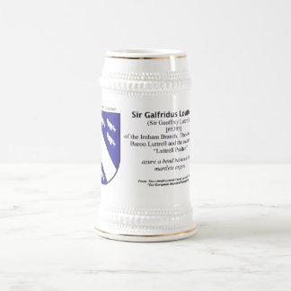 Sir Galfridus Loutterell FTJ#5395 Jarra De Cerveza