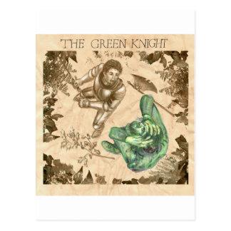 Sir Gawain and the Green Knight Postcard