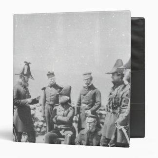 "Sir George Brown G.C.B del Teniente General Carpeta 1 1/2"""