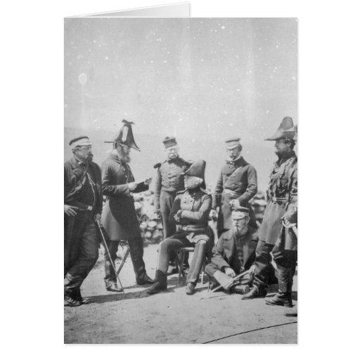 Sir George Brown G.C.B del Teniente General Felicitacion