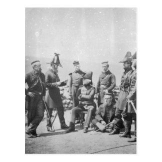 Sir George Brown G.C.B del Teniente General Tarjeta Postal