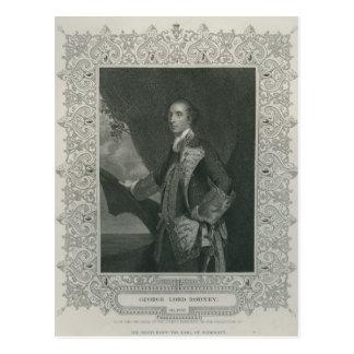 Sir George Brydges Rodney Postcard