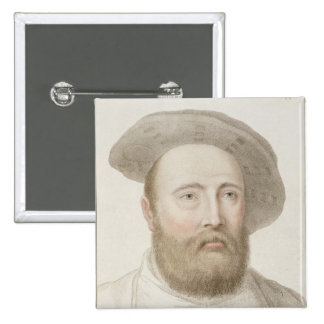 Sir George Carew (b.c.1514) engraved by Francesco Button