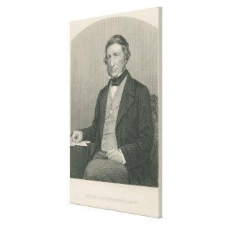 Sir George Cornewall Lewis Canvas Print