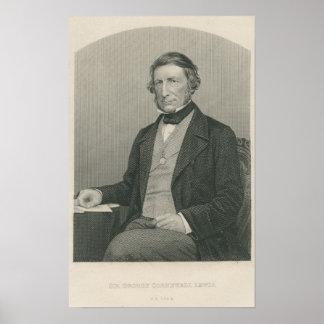 Sir George Cornewall Lewis Posters