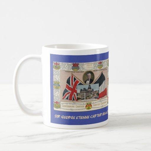 Sir George Etienne Cartier Tazas De Café