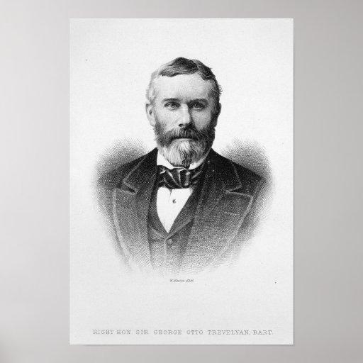 Sir George Otto Trevelyan Poster
