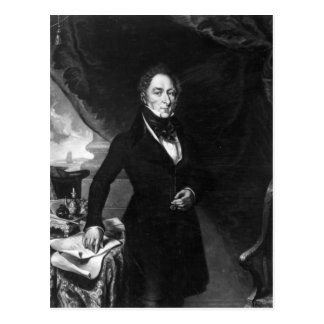 Sir George Staunton, 1839 Tarjeta Postal