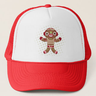 Sir Gingerbread Trucker Hat