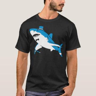 Sir gran tiburón blanco playera